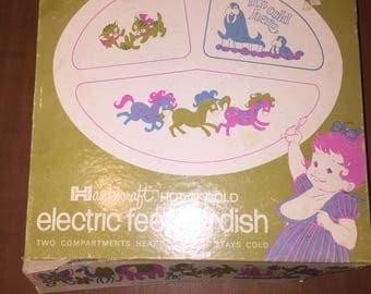 Vintage Hankscraft Hot N Cold Electric Feeding Dish