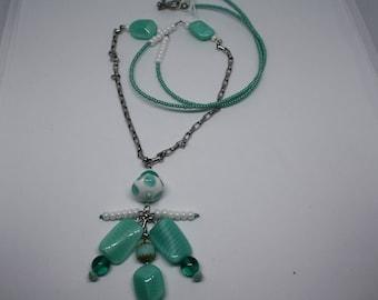 Green water Pendant