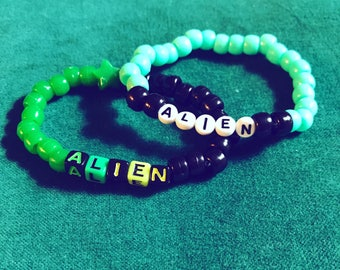 His and Hers Kandi Bracelets