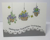 Handmade Greeting Card, Thinking of You, Get Well Card, Hang in There,Spread Kindness,Share Kindness,Blank Greeting Card,Inspirational Card