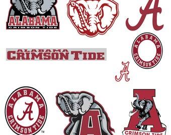 university of alabama svg etsy alabama logo pumpkin stencil Printable Alabama Crimson Tide Logos