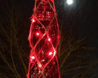 Red LED Lantern