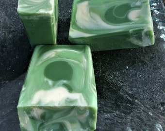 OLIVE Cold Process Hand Crafted Bar Soap