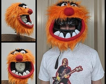 Animal Motorcycle Helmet Cover