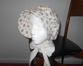 Pioneer Bonnet, Trek Bonnet, Prairie Bonnet, Pilgrim Bonnet, Trek Clothing
