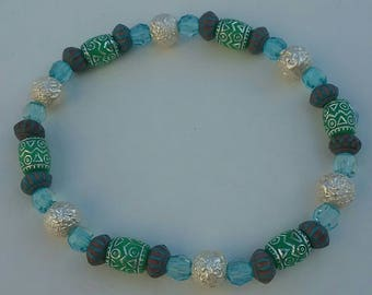 Beautiful beaded bracelet that goes great with everything.
