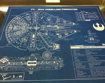 Millenium Falcon Limited Edition Print