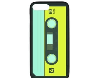 Cassette Tape Rubber Case for iPhone 7 Plus