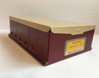 Vintage Kodaslide Compartment File