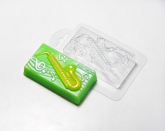 Soap mold, Icetray, Form for chocolate, Soap molds, Icetrays, Forms for chocolate, the Creative, the Saxophone, Music, Jazz