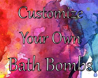 Customize Your Own Pixie Spell Fizzy Bath Bombs