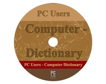 PC Users - Computer Dictionary for Windows PC (Orig)(CD)