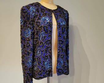 Jazzy sequin jacket