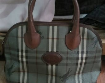 Vintage Burberry Hand Bag
