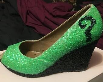 Riddler heels