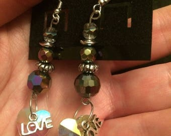 All You Need is Love Earrings