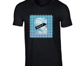 Give Up Retro Hype T Shirt
