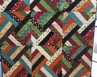 funky lap quilt