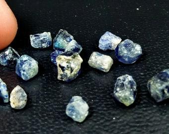 17.75 Natural Blue Sapphire Rough Stone