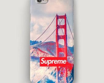 Red Bridge iPhone X Case, Sky iPhone 8  Case, iPhone 5 Case, iPhone 7 Cover, Galaxy S8 Plus Case, Supreme iPhone Case, Apple iPhone 6 Case