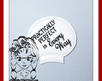 PRACTICALLY PERFECT Ear (Add On  ~1 Pc) Mr Ms Mouse Ears Headband ~ In the Hoop ~ Downloadable DiGiTaL Machine Embroidery Design by Carrie