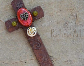 Rustic Craftsman Style Wall Cross Free Shipping