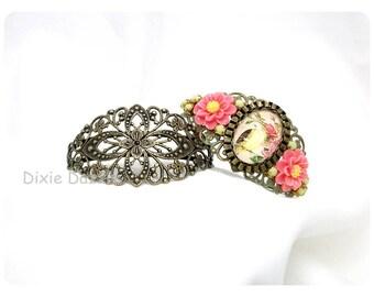 10 Antique brass filigree cuff bracelets, cuff bracelet, vintage style bracelet, filigree cuff, bridal jewelry, bridesmaid gift