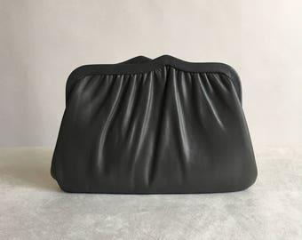 Vintage Granite Gray Handbag Chain Purse