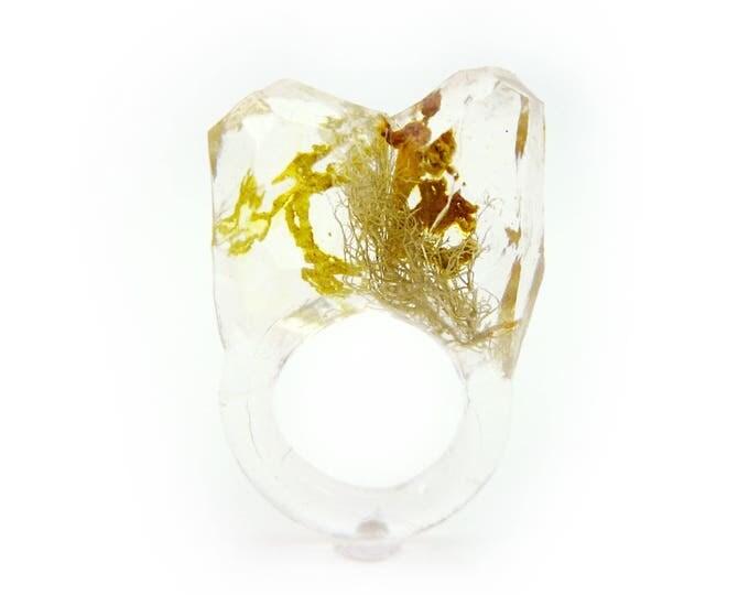 Faceted Terrarium Ring