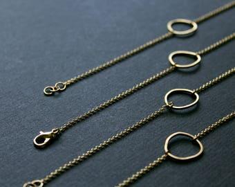 NEW Topo Bracelet 5 - dainty simple everyday bracelet adjustable gold bracelet minimalist jewelry delicate chain woman friend gift for her