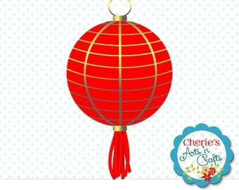Red Paper Lantern Clip Art