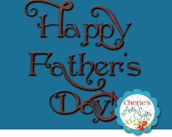 SALE | Happy Father's Day PNG Clip Art | Designer Resources | Father's Day Clipart | Clip Art | Digital Download Graphics | Dad Graphics