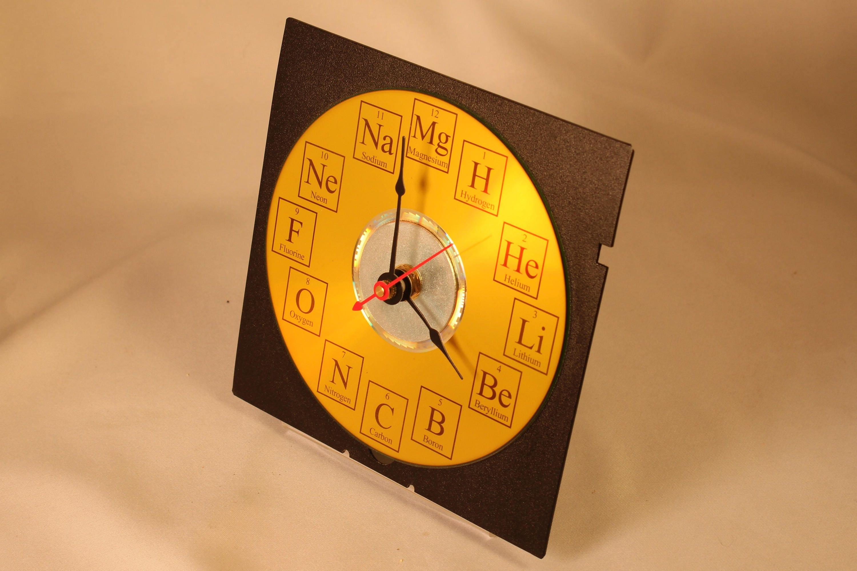 Periodic table of elements desk clock zoom gamestrikefo Gallery