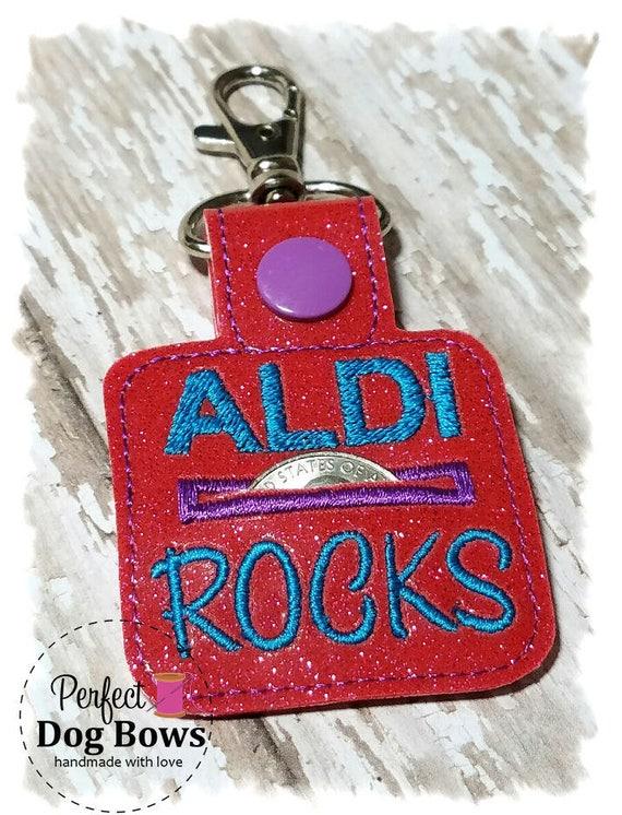 Aldi Quarter Keeper//Quarter Holder//Coin Holder//Quarter Pouch//Aldi Keychain