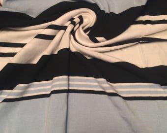 Stretch Jersey Knit Sripes 2-1/2 Yards
