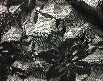 Floral Lace Fabric 2 Yards