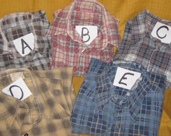 Well Loved Flannel Shirts