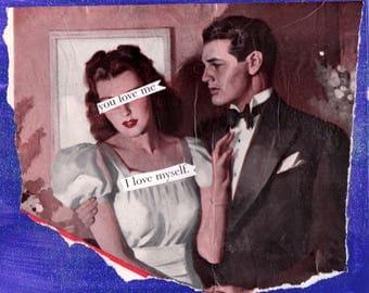 Self Esteem {Original Collage}