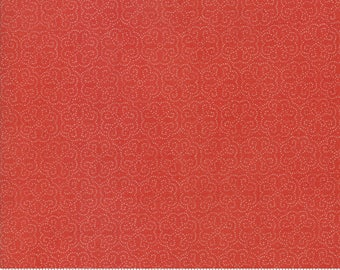 Biscuits and Gravy - Hoe Your Row in Jelly Red: sku 30489-11 cotton quilting fabric by BasicGrey for Moda Fabrics