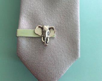 Elephant Tie Clip
