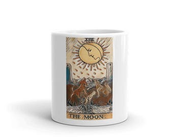 Moon Tarot  Cards Tea Coffe Cup Mug