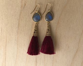 Tassel Earrings (many colors available)