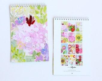 2018 calendar   floral   limited edition
