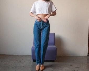 TOMMY HILFIGER tapered jeans / slim denim / US 6 / 28 W / 2831t / B9