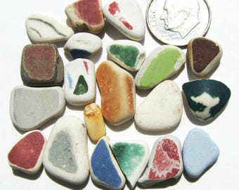 Genuine Sea Pottery, Lot of 20 pieces