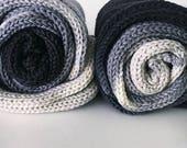 on sale... SMOKE Squishy Transitions Superwash Sock Yarn