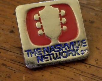 The Nashville Network (TNN) - Vintage Pin
