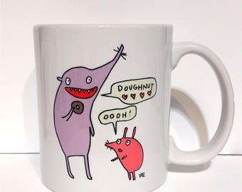 Doughnut - monster mug