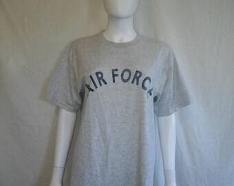 Closing Shop 40%off SALE AIR Force t shirts, Military grey t shirt