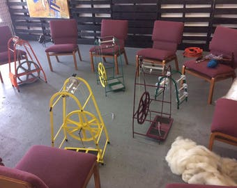 Making Yarn With a Spinning Wheel, Prairieland Herbs location, Tuesday August 15, 6-8 PM